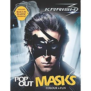 Krrish Mask Book Colour & Fun