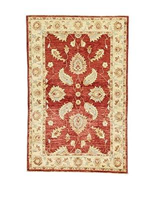 L'Eden del Tappeto Teppich Agra rot/ecru 150t x t97 cm