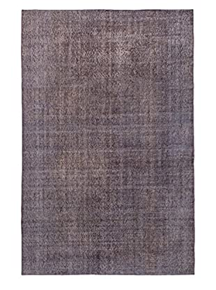 eCarpet Gallery One-of-a-Kind Hand-Knotted Color Transition Rug, Purple, 5' 9