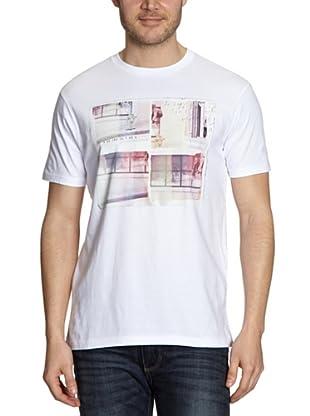 Quiksilver Camiseta Basic (Blanco)