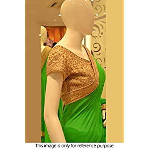 Bollywood Style Model Marble Saree In Green Colour NC681
