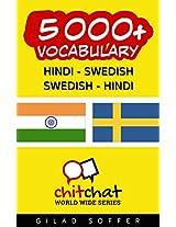 5000+ Hindi - Swedish Swedish - Hindi Vocabulary (ChitChat WorldWide)