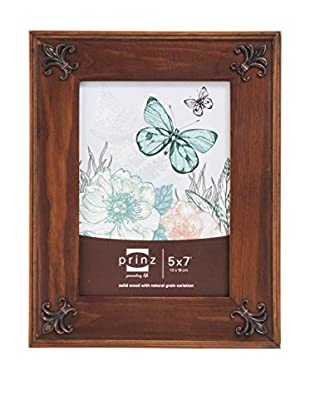 Prinz Ltd. Fleur De Lis Solid Wood Frame With Metal Accents