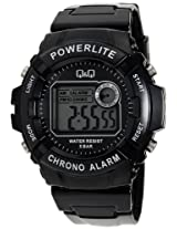 Q&Q Digital Black Dial Men's Watch - M051J007Y