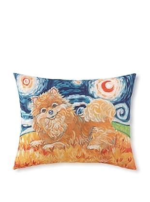Van Growl Pomeranian Pillow