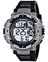 Armitron Sport Men's 40/8309GRY Digital Silver-Tone Resin Sport Watch with Black Band