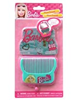 Barbie Compact Mirror and Hair Comb Set
