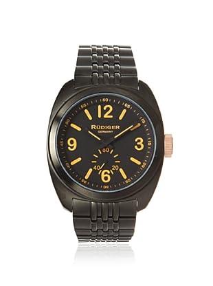 Rudiger Men's R5001-13-007.13 Siegen Black PVD Bracelet Watch