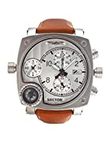 Sector Brown Analog Watch