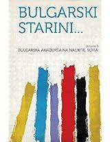 Bulgarski Starini... Volume 5