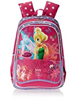 "Genius Nylon Children's Backpack (XP FR 1502 SENIOR PLUS 19""-PINK)"
