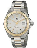 TAG Heuer Men's WAY1151.BD0912 Aquaracr Analog Display Swiss Quartz Two Tone Watch