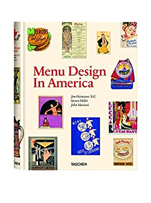 Menu Design Hardcover Coffee Table Book