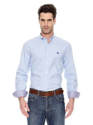 Toro Camisa Mil Cuadros (Azul)