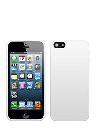 Blautel iPhone 5 Funda 4-Ok Protek Colors Blanco
