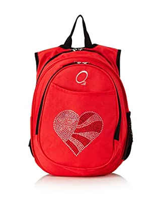O3 Kid's All-in-One Pre-School Backpacks with Integrated Cooler (Flag Heart)