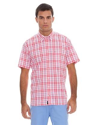 Tommy Hilfiger Camisa Cuadros (Rosa / Blanco)