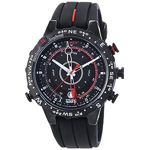 Timex T45581 Men's Analog Black Dial Watch
