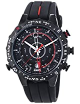 Timex T45581 Men's Analog Black Dial Watch