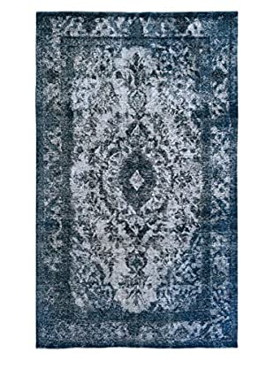 Kalaty One-of-a-Kind Pak Vintage Rug, Blue/Grey, 6' 4