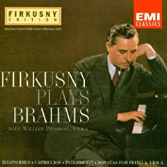 Firkusny Plays Brahms