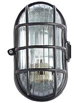 Glow Fixtures Metal & Glass Recessed Lighting (Black, 5 Watts