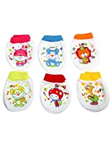Baby Bucket Mittens Pack of 6