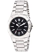 Q&Q Regular Analog Black Dial Men's Watch - Q962J202Y
