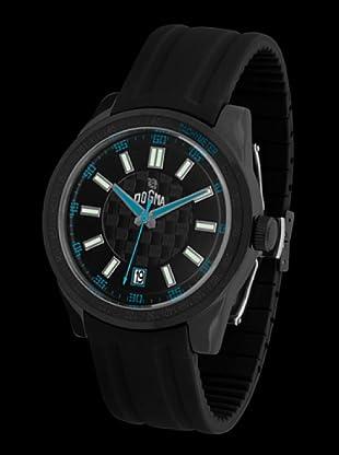 Dogma G7024 - Reloj de Caballero movimiento de quarzo con correa de caucho azul