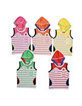 1ly Shirts Boys' Hooded T-Shirt (8906067160355_Multi-Coloured_9-10 Years)