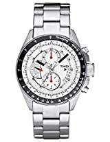 Timex E Class Chronograph Silver Dial Men's Watch - TI000U20000