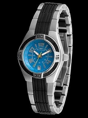 Sandoz 71570-03 - Reloj Fernando Alonso Señora negro / turquesa