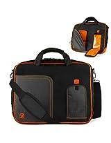 Vg Inc Laptop Messenger Bag (Orange)