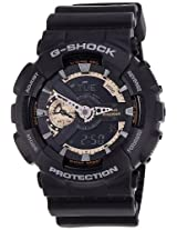 Casio G-Shock Analog-Digital Black Dial Men's Watch - GA-110RG-1ADR (G397)