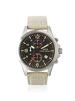 AVI-8 Men's 4001-03 Hawker Harrier II Grey Green/Black Stainless Steel Watch