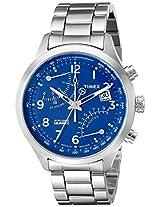 Timex Men's TW2P60600DH Intelligent Quartz Fly Back Chrono Analog Display Analog Quartz Silver Watch