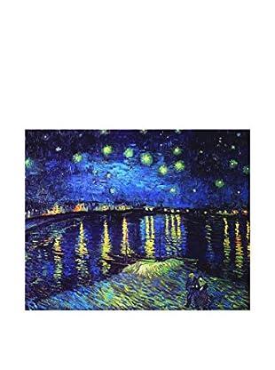 LegendArte Panel Decorativo Noche Estrelledada Sobre El Ródano de Vincent Van Gogh