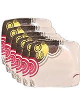 Lakshya Set Of 24 pcs Melamine Full Dinner Plates LE-TW-004-PLF-24