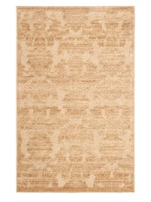Nourison Graphic Illusions Rug, Light Gold, 7' 9