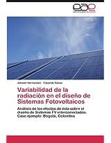 Variabilidad de La Radiacion En El Diseno de Sistemas Fotovoltaicos