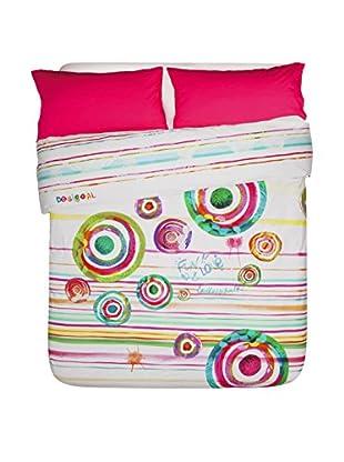 Desigual Bettdecke und Kissenbezug Paint Party