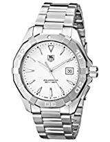 TAG Heuer Men's WAY1111.BA0910 Analog Display Quartz Silver Watch