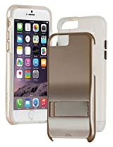 Case-Mate Tough Stand Hard Back Case Cover for Apple iPhone 6 Plus - Gold / Clear (CM033616)