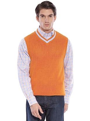 Hackett Chaleco Punto (naranja)