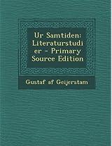 Ur Samtiden: Literaturstudier