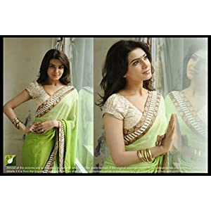 Designer Bollywood Stylish Dark Pink Georgette Sari Saree Lehenga TM47