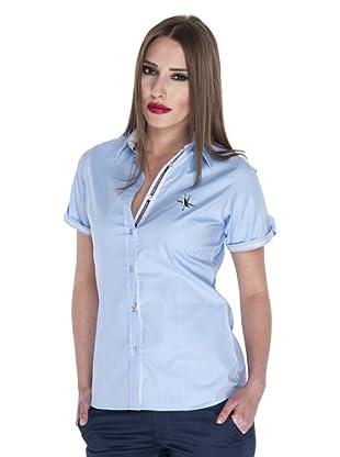 Giorgio Di Mare Camisa Manga Corta Zarah Manga Corta (Azul)