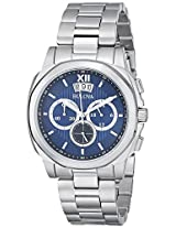 Bulova Classic Analog Blue Dial Men's Watch - 96B219