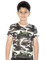 Clifton Boys Cotton T-Shirt (Aaa00013825 _Multi-Coloured _4-5 Years)