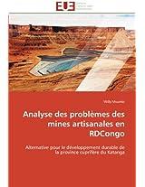 Analyse Des Problemes Des Mines Artisanales En Rdcongo (Omn.Univ.Europ.)